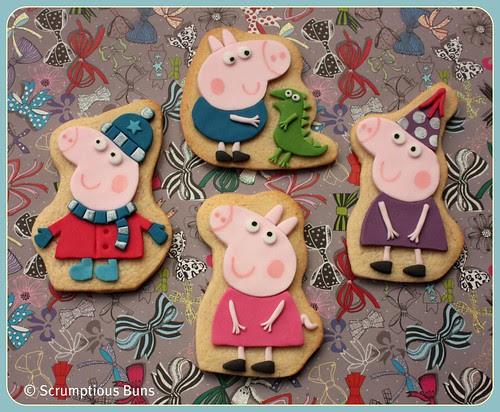 Peppa & George Pig by Scrumptious Buns (Samantha)