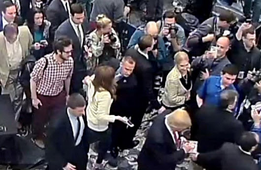 Trump campaign manager arrested, charged with battery of reporter