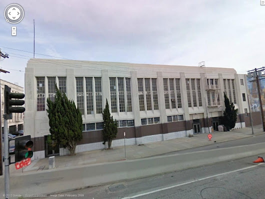 Historic California National Guard Armories: Los Angeles South Hope Street Armory