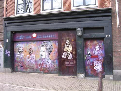 asian graffiti Amsterdam