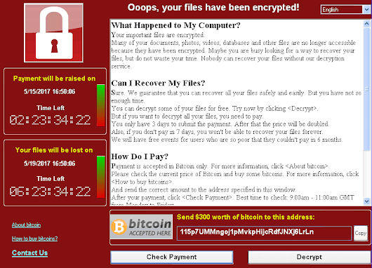 """Oops, Your Files Have Been Encrypted!"" WannaCry Virus Removal Guide"