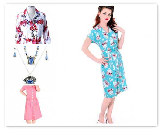 Giveaway: Enter to win a $100.00 store credit from The Best Vintage Clothing's wonderful Etsy shop