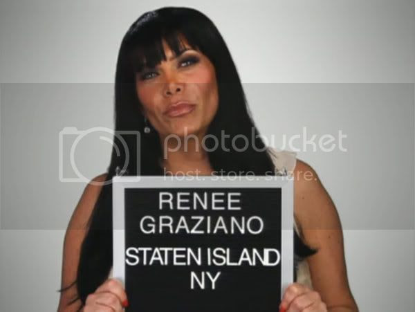 Renee Graziano of VH1's Mob Wives