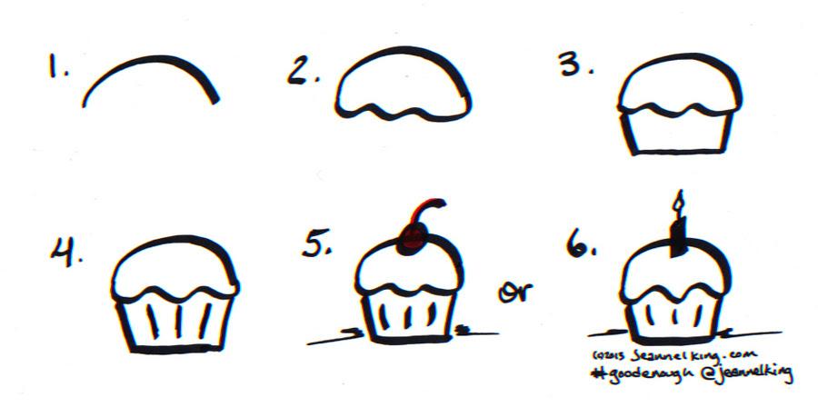 Drawing Happy Birthday Cake