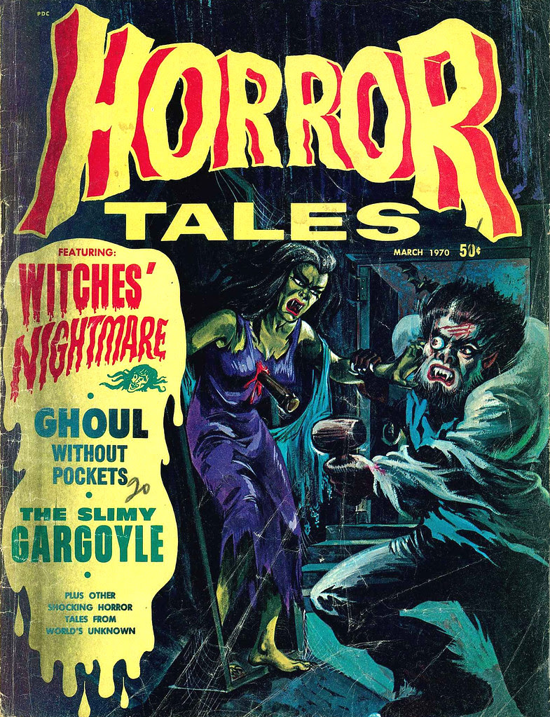 Horror Tales - Vol.2 #2 (Eerie Publications, 1970)
