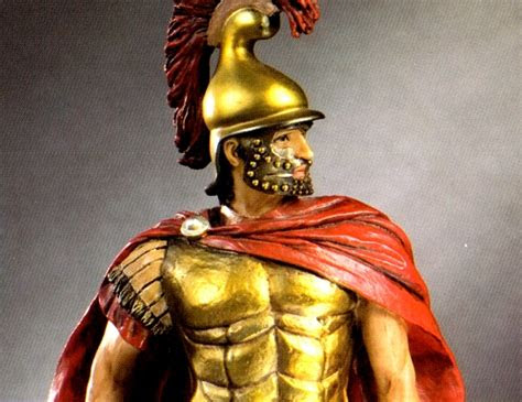 statues busts ancient greek heroes macedonian