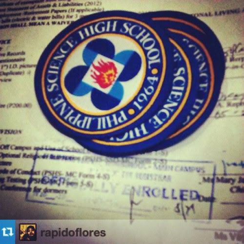 Officially enrolled. #Repost from @rapidoflores with @repostapp