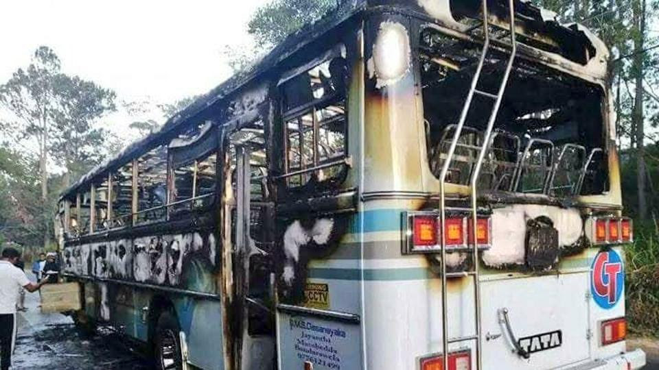 Five member committee appointed to probe bus explosion