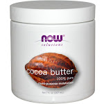 Now Foods Solutions Cocoa Butter - 7 oz jar