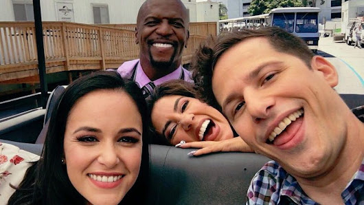 'Brooklyn Nine-Nine' Cast Celebrates Return to Season 6 Filming (PHOTOS)