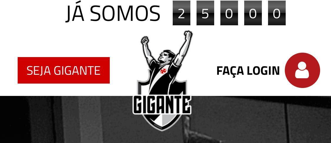Vasco News - Vasco Minha Vida  Vasco anuncia que atingiu marca de 25 ... 1d00cf0344e04