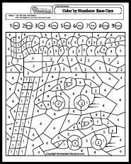 Coloring Numbers Worksheet - Hd Football