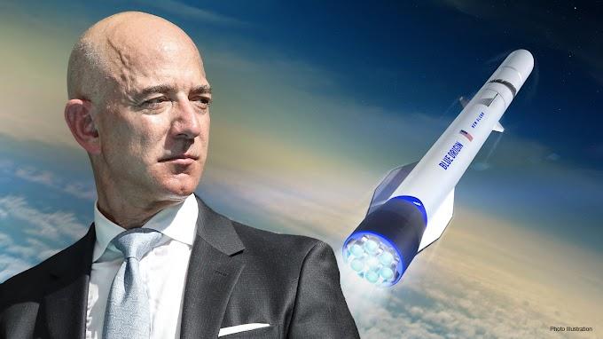 FOX BIZ NEWS: Bid of $28 million wins a rocket trip to space with Bezos