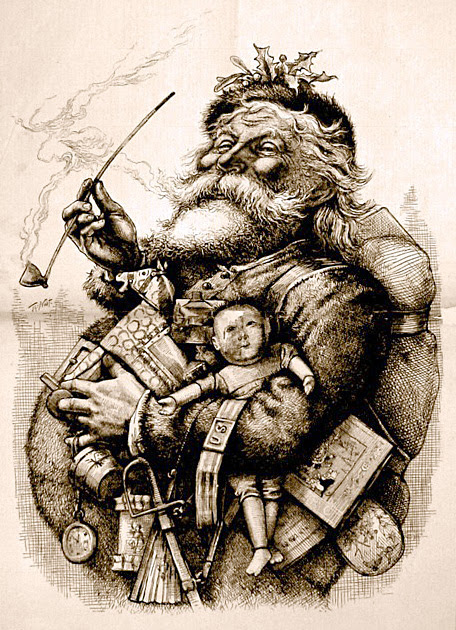 The history of Father Christmas & Santa Claus