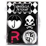 Umbrella Academy 4-Piece Magnet Set
