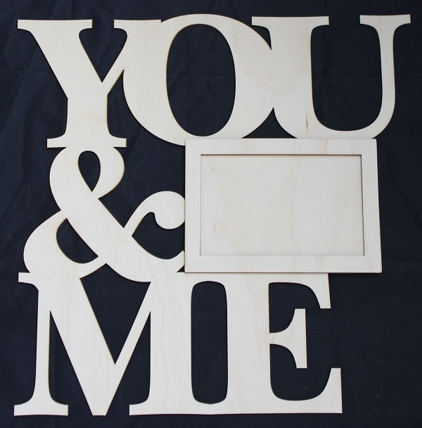 You Me 18 Birch Wood Frame