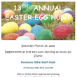 Easter Egg Hunt - Centura Hills Golf Club