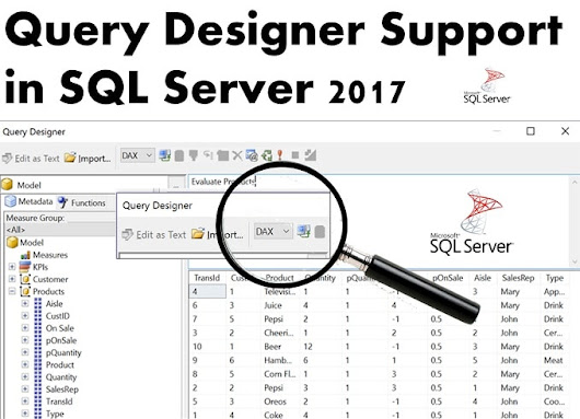 4 Quick Steps to Use Query Designer in SQL Server 2017 - Data Recovery Blog