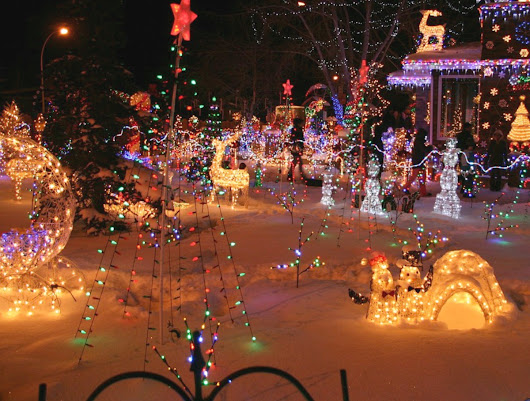 Best Christmas Light Shows in Connecticut - Living In Greater New Haven