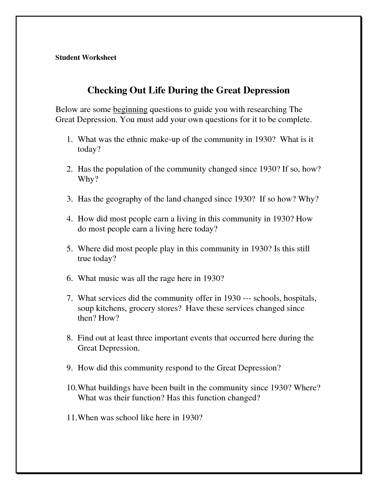 14 Best Images of Dealing With Depression Worksheets ...