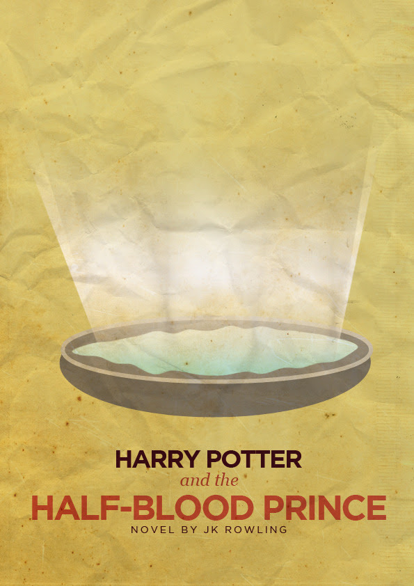 New minimalist posters! Harry Potter lives on. :D