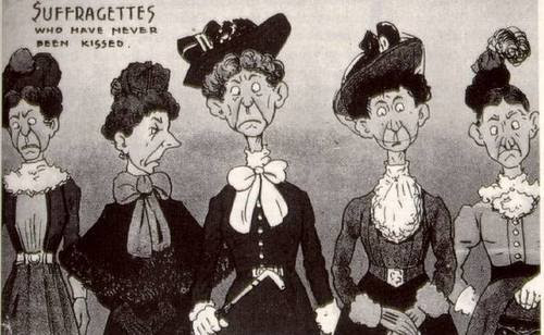 Never Been Kissed Suffragettes