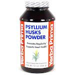 Psyllium Husks Powder by Yerba Prima 12 oz.