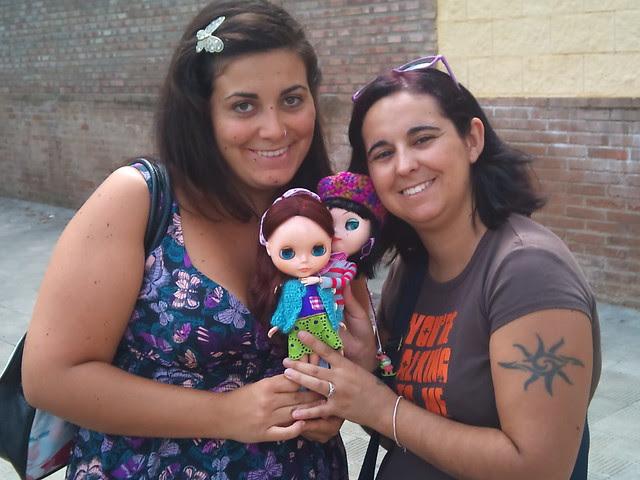 Angy y Líber; Aileen y Manuela