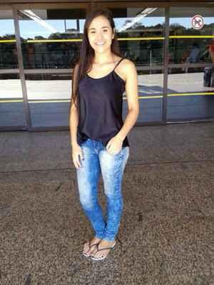 Bruna morreu no final da noite de ontem após um ataque de tubarão registrado no início da tarde em Boa Viagem. Foto: Arquivo Pessoal/Reprodução