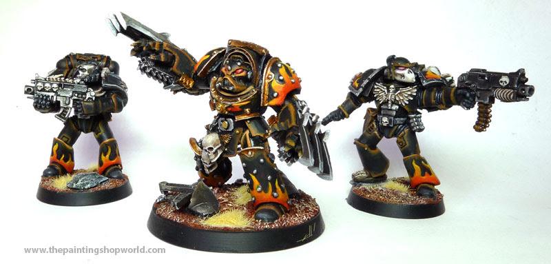 Legionnaires Marines and Terminator
