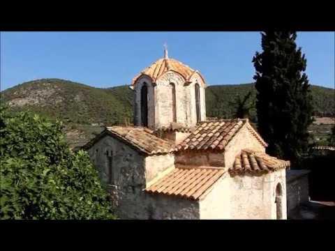 Βυζαντινή Μονή Κοιμήσεως της Θεοτόκου, Σοφικό Κορινθίας (BINTEO)