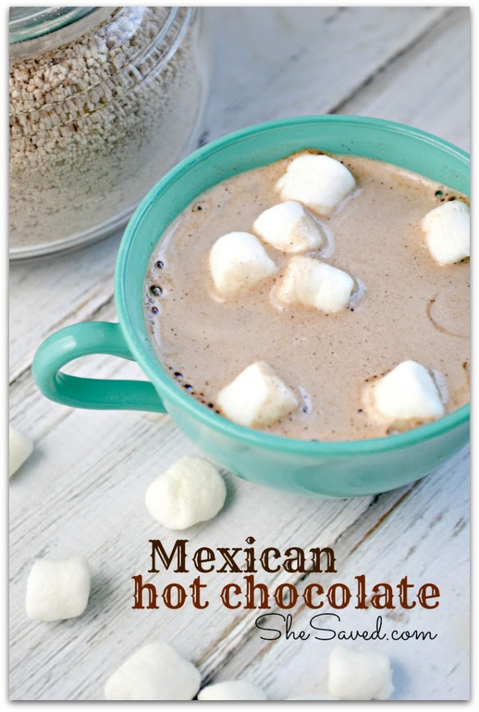 Mexican Hot Chocolate by She Saved