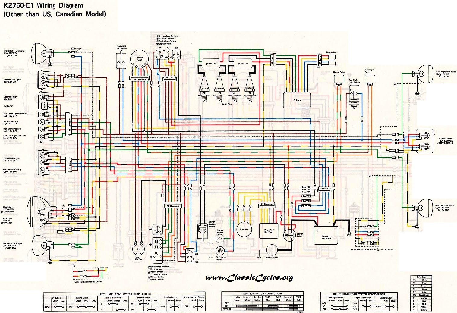 1993 Kawasaki Ninja Ex500 Wiring Diagram - Wiring Diagram ...