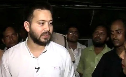 Tejashwi Yadav Hits Out At BJP Leader Nishikant Dubey After Party Worker Washed His Feet