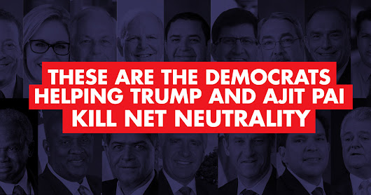 These Are The Democrats Helping Kill Net Neutrality