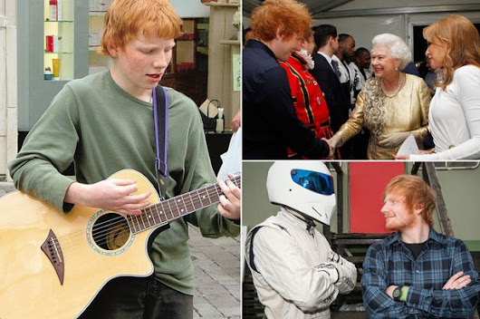Ed Sheeran's Breakthrough :- Busker to international superstar