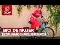 Mayalen Noriega nos habla de las diferencias entre las bicis de mujer y de hombre