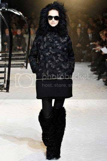 Moncler Gamme Rouge fall winter 2012/13 runway show