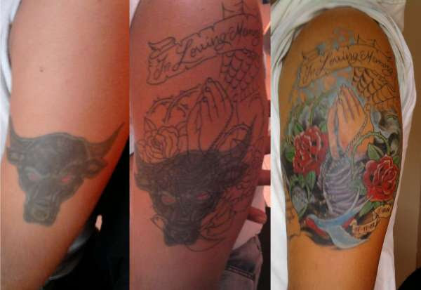 Half Sleeve Cover Up Tattoo