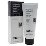 PCA Skin Weightless Protection Facial Moisturizer, SPF 45 - 2.1 oz tube