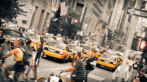 NY Street by manuel escrig