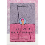 Muse Beauty Bath Towel 2-ct. Hair Turbans One-Size