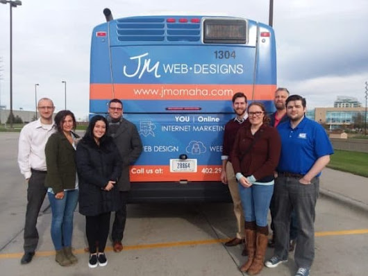 JM Team Rides JM Bus | Omaha Web Design and SEO | JM Web Designs