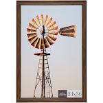 """24"""" x 36"""" Large Wall Frame Walnut - Gallery Perfect"""