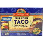 Garden Of Eatin' Taco Blue Corn Dinner Kit (12 - 9.4 oz boxes)