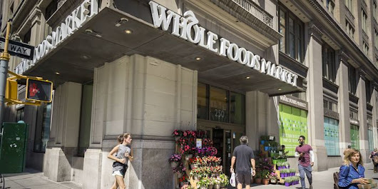Amazon to Buy Whole Foods for $13.7 Billion