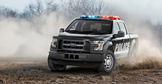 Bad Guys Beware: Ford Releases 2016 F-150 Police Truck – This Week in Automotive News - Carsforsale.com Blog