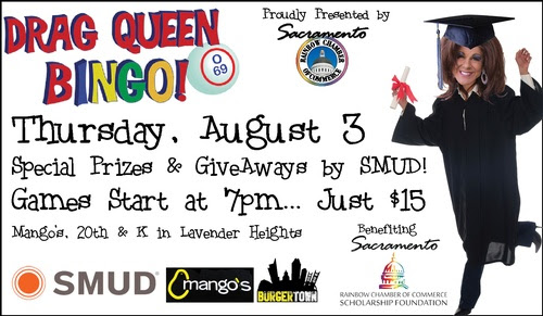Drag Queen Bingo Benefiting Rainbow Chamber Foundation Scholarship Fund