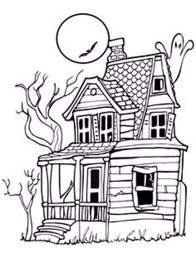 Los Dibujos De Halloween Para Colorear Más Terroríficos