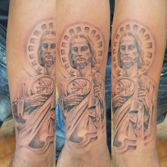 Tatuajes De San Judas Tadeo Historia Significados Tatuajes Geniales